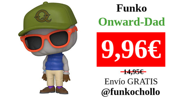 ‼️FUNKO ONWARD-DAD‼️ 👁‍🗨 #funkochollo #Amazon #chollo #oferta #ganga #funko #funkopop  ⚫️ Funko- Pop Disney: Onward-Dad Collectible Toy, Multicolor (45585)  🛒: ➡️ https://t.co/epqL5hum50 ⬅️  🟢 https://t.co/SdTO2TTDka https://t.co/X3ut2xP3F9