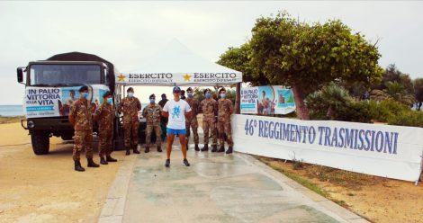 Staffetta solidale a Palermo, l'Esercito percorre 148 chilometri per la ricerca sulle malattie pediatriche - https://t.co/dndTGpdH0O #blogsicilianotizie