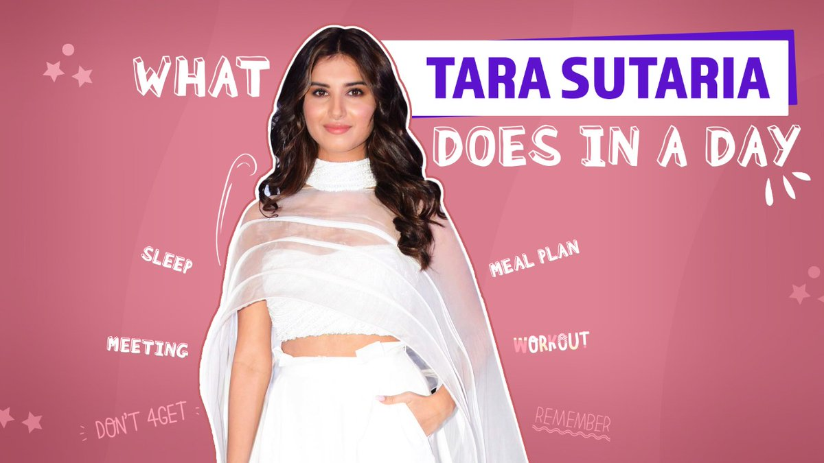 Everything Tara Sutaria does in a day | What I do in a Day  Watch the video now: https://t.co/KD2GZGo2gq  @TaraSutaria #TaraSutaria #WhatIDoInADay #Bollywood https://t.co/l6unh3MGeF