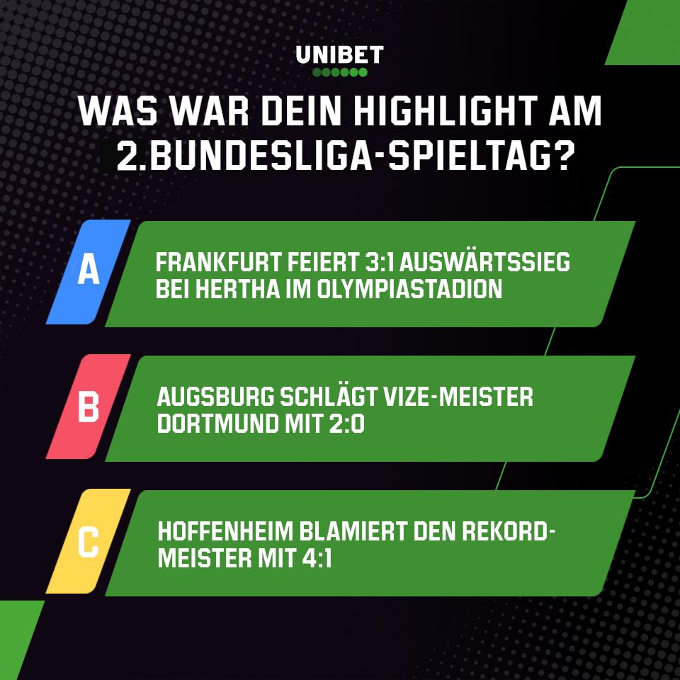 #Frankfurt sorgt mit Auswärtssieg in #Berlin für Ernüchterung, eiskalte Augsburger schlagen #Dortmund sensationell, #Hoffenheim knackt die #Bayern 💪   #Borussia #RBL #BVB #FCB #Werkself #effzeh #Schalke #Eintracht #SCF #Hertha #TSG #Mainz05 #Werder #FCUnion #FCA #VFB #immerdabei https://t.co/XBtCn9aWNL