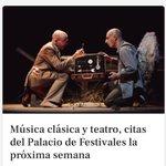 Image for the Tweet beginning: El Palacio de Festivales de