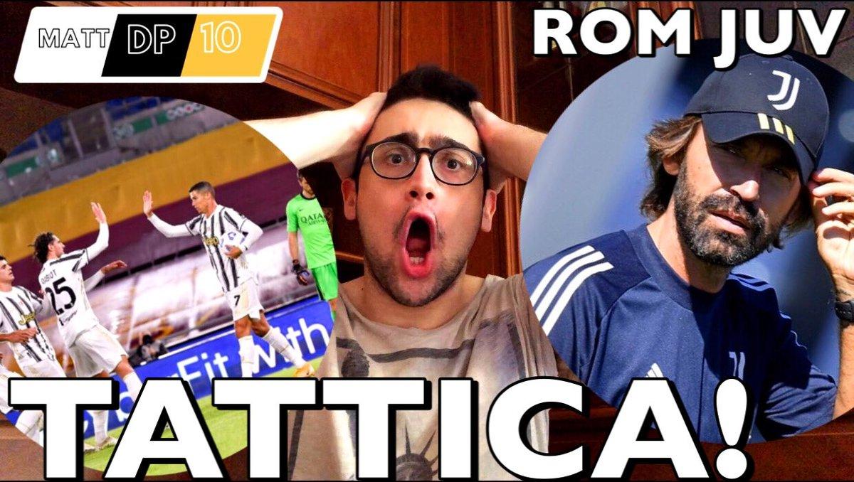 [ABBIAMO PRESO UN GOL DA POLLI!!! RABIOT TI DENUNCIO!!!] | TATTICA ROMA ... https://t.co/JrYmwy79df   #Ronaldo #Juventus #Paratici #Marotta #ForzaJuventus #Dybala #Guardiola #Pirlo #Chiellini #CR7 #Championsleague #Agnelli #DelPiero #Buffon #Pirlo #Pogba #Raiola https://t.co/duagCvweRo