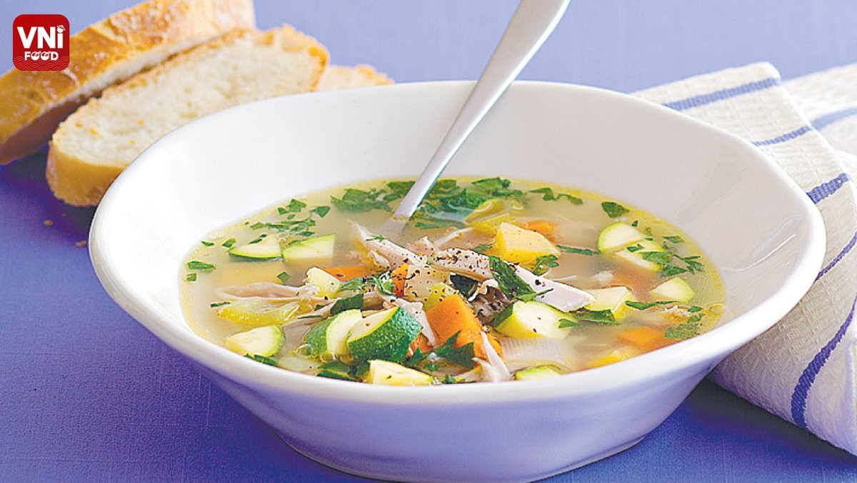 CHICKEN SOUP WITH VEGETABLES –——————————— General information about VniFood Please see the link below:  ⇨ https://t.co/3zUZCvfRLR ⇨ Thanks for your interest! –——————————— #Hashtag #VniFood #vietnamesefood #dishoftheday #cookingtutorial #cooking #cookingram https://t.co/ZFspfqhWin