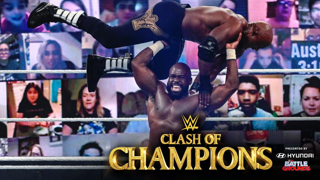 Despite a strong showing by @WWEApollo, it was 𝙗𝙪𝙨𝙞𝙣𝙚𝙨𝙨 as usual for United States Champion @fightbobby! #WWEClash https://t.co/B6Ppx5Wdth https://t.co/suGxrBgbnT