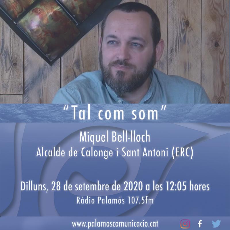 """Avui a l'espai """"Tal com som"""" (12:05h) anirem fins a Calonge i Sant Antoni per entrevistar al seu alcalde, en Miquel Bell-lloch (ERC) https://t.co/t1vAaZhjcc"""