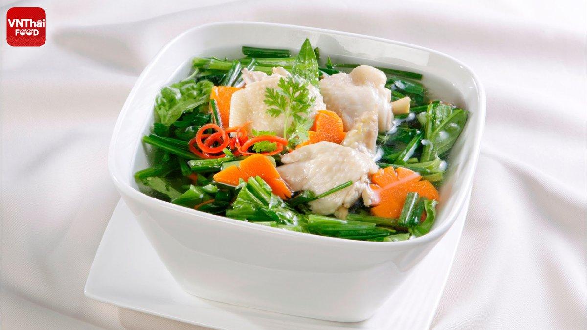 ซุปไก่กับผัก ---------------- ข้อมูลทั่วไปเกี่ยวกับ VNThaiFood โปรดดูลิงค์ด้านล่าง: ⇨ https://t.co/XbLvGk9wNg ---------------- #VNThaiFood #vietnamesefood #dishoftheday  #cookingram #cookingclass #cookingtime #cookingwithlove #cookingathome #cookingvideo #cookingschool https://t.co/lx0PHMGLPD