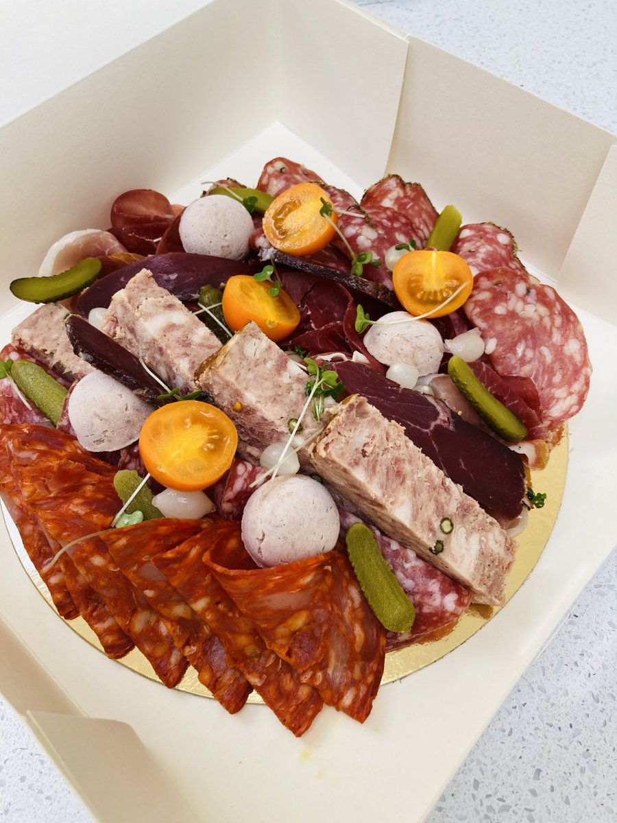 New french and Italian #charcuterie platter !😉 #ham #terrine #delivery #french #france #food #Foodie #deliciousfood https://t.co/T9JKdiYz4O