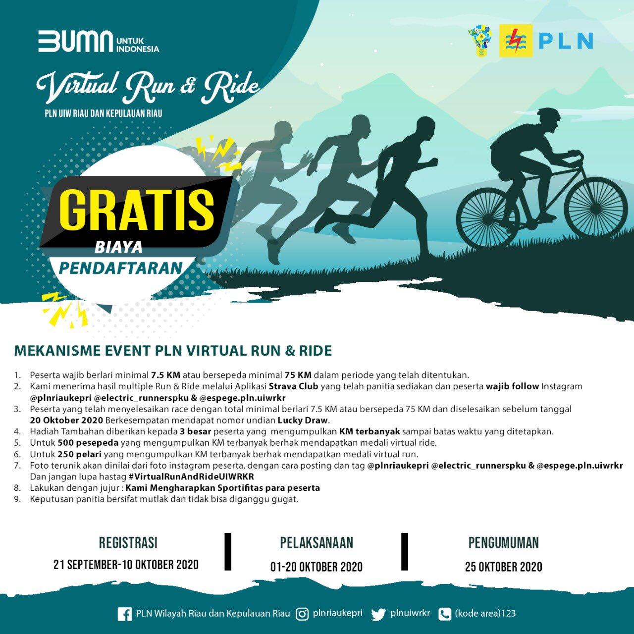 PLN UIW RKR - Virtual Run & Ride • 2020
