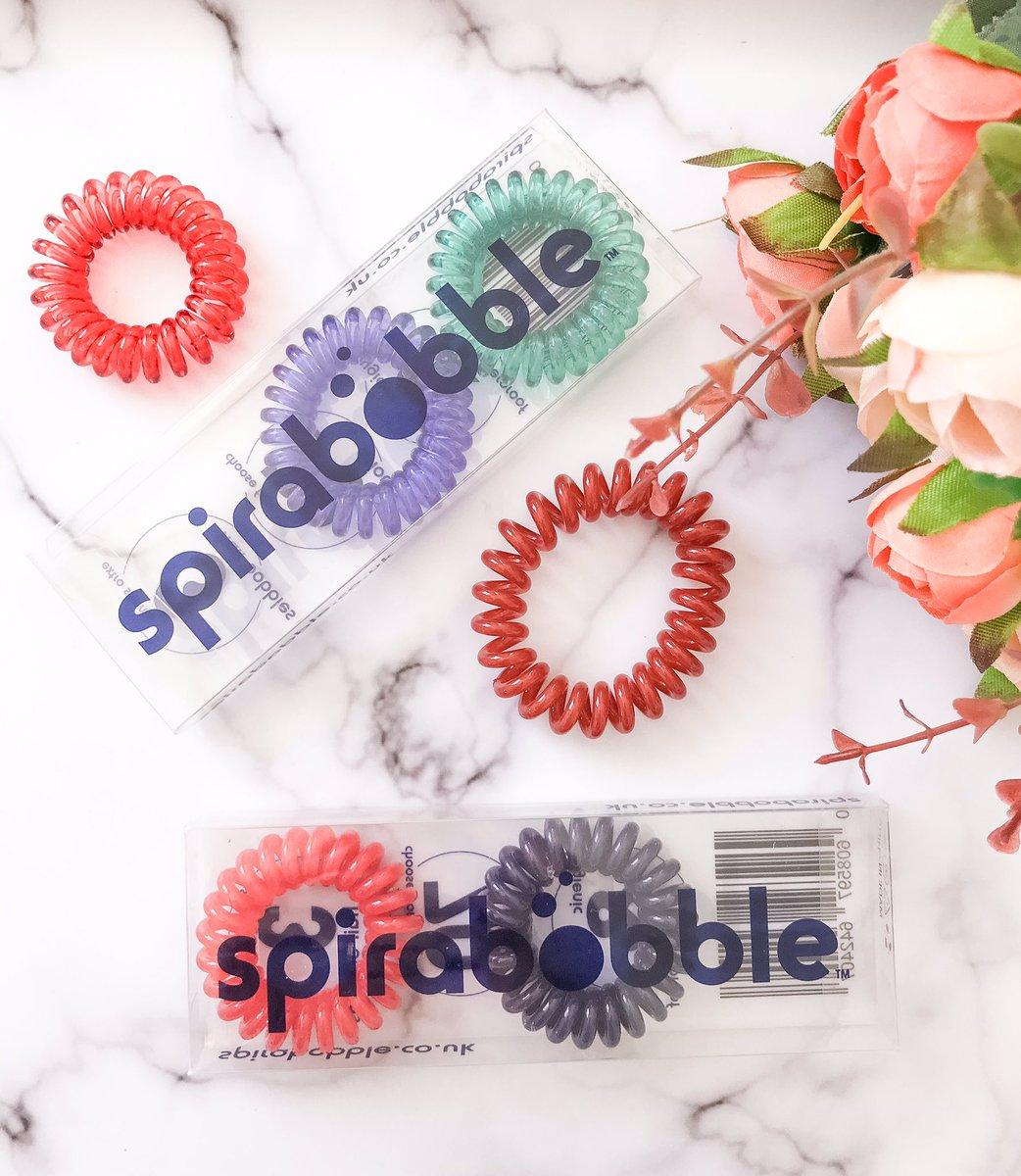 AD PR Product - So many colours to choose from with @SpiraBobble 😍 Get a pack of 3 for £4.99!   https://t.co/Rh3qF8RPv3  @BloggingBabesRT @cosyblogclub @BloggersTribe @BloggersHut @bloglove2018 @LovingBlogs #bloggerstribe #BloggersHutRT #bloggingcommunity https://t.co/slrR3IFkmx