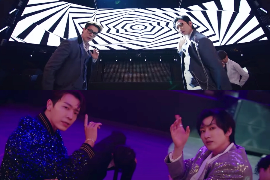 "WATCH: #SuperJuniorDnE Suits Up For A Private Party In ""No Love"" MV https://t.co/TynU1WF9Ju https://t.co/munYpGLDJ5"