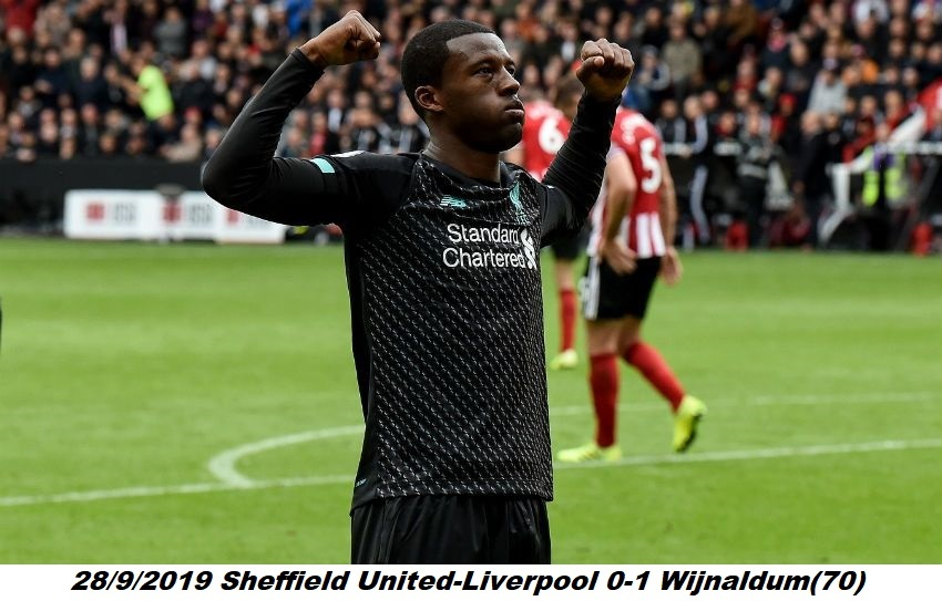 #OnThisDay in 2019,Sheffield United-Liverpool 0-1! @LFC  #LFC  @GWijnaldum https://t.co/eLGYLzZSaW