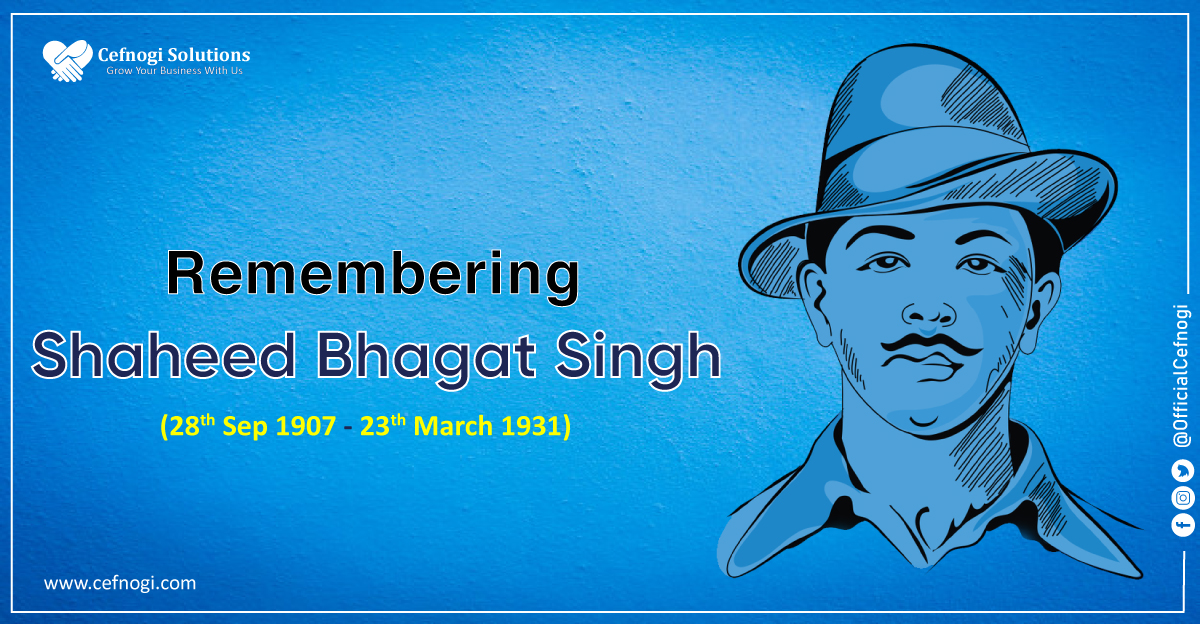 We pay our homage to The Great Freedom Fighter of India Shaheed Bhagat Singh on his Jayanti.  🇮🇳🇮🇳 A man who will always stand as an ideal for the youth. Inspirational fighter. #BhagatSinghJayanti #ShaheedBhagatSingh #BhagatSingh #YouthIcon @IAF_MCC @indianyouthinfo https://t.co/jpwaWshOzO