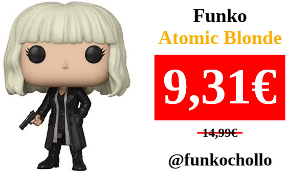 ‼️FUNKO ATOMIC BLONDE‼️ 👁‍🗨 #funkochollo #Amazon #chollo #oferta #ganga #funko #funkopop  ⚫️ Funko Pop!- 889698299138 Atomic Blonde Figura de vinilo, Multicolor (29913) , color/modelo surtido  🛒: ➡️ https://t.co/s7itnDmM9j ⬅️  🟢 https://t.co/SdTO2TTDka https://t.co/n31gaoLYqO