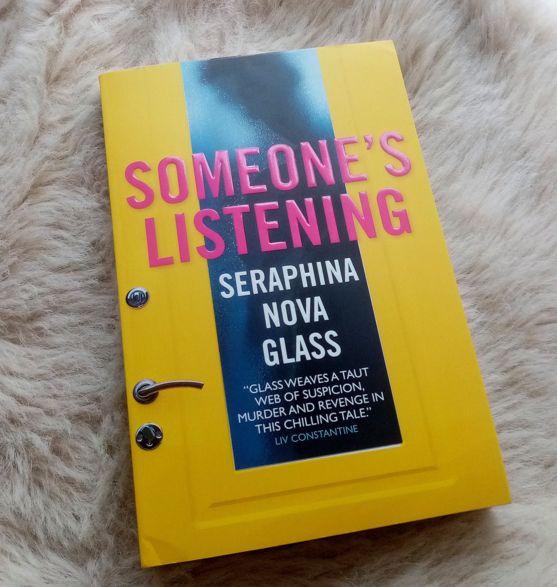 All the thanks to @Sarah_Mather_15 of @TitanBooks for the #Gifted copy of #SomeonesListening by @SeraphinaNova I do love a chilling tale of suspicion, obsession and revenge! Publishing on the 6th of October in paperback and ebook! Definitely one to watch out for 😱 #BookPost https://t.co/BX7FoPB1CD