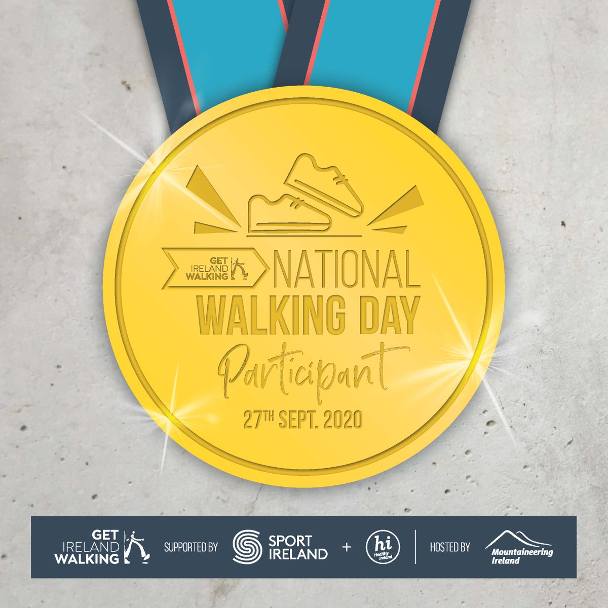 Are you one of the amazing people who walked yesterday on National Walking Day? Well here is a little thank you! Share the medal on your social media page tag us & all your friends who walked who can copy & share too! #NWD2020 #BeActive #WalkYourArea #WalkYourTown https://t.co/0wOAkVwYu9