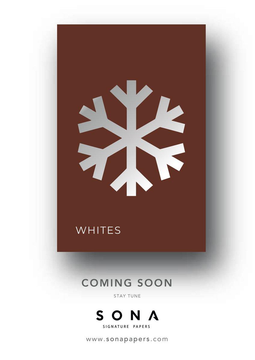 New and Bold! Coming soon.. . . . . . . . #sonapapers #comingsoon #paperpediamini #paperpediamini2020 #newandbold #whites #premiumpaper #finepapers #papermagic #paperlove #graphicdesigner #artdirector #creativedirector https://t.co/GjyKx87AWt