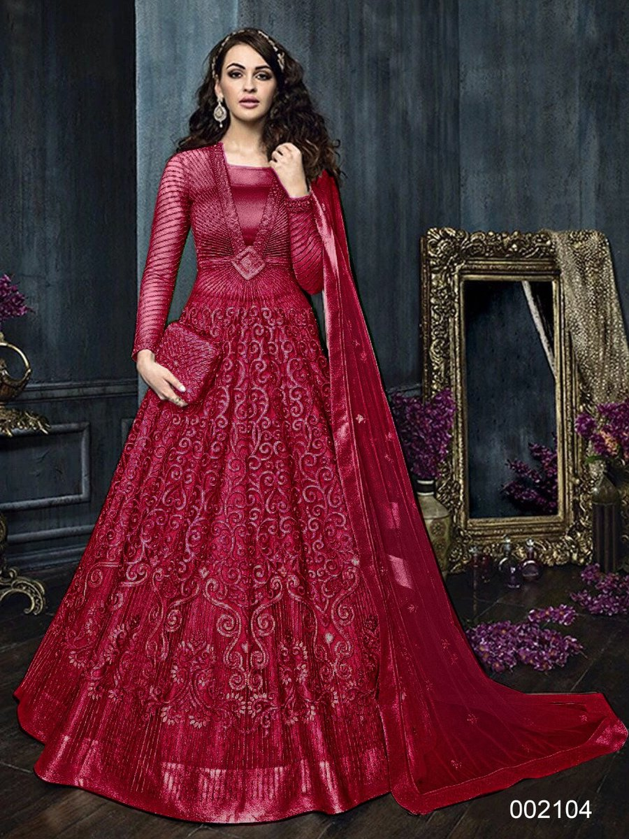 Excited to share the latest addition to my #etsy shop: Pure Net Bridesmaid Embroidered Work Indian Designer Bollywood Gown for France Woman Fashion Shop | Bridal Wedding Outfit on Etsy Shop https://t.co/LNeT4Yky1n #red #prom #floral #victorian #yes #longsleeve #scoop https://t.co/9gU5xMAUfI