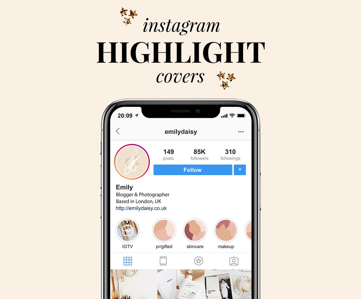 AD • Are you looking for simple covers to use on your Instagram highlights? ✨  Check out my abstract nude covers which are perfect if you want to give your feed an elegant look ⭐️  👉🏼 https://t.co/t7ACWAFX0P  @BloggersHut #BloggersHutRT @GoldenBloggerz #bloggerstribe https://t.co/yPE1qjtgYT