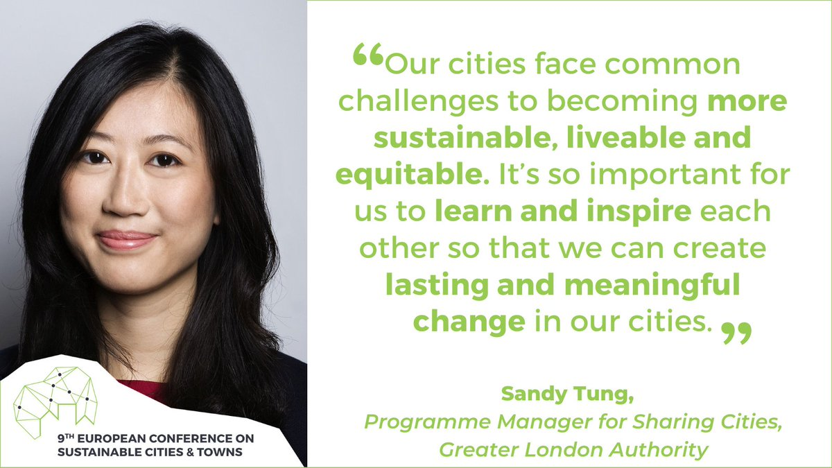 On the third day of #Mannheim2020 we are hosting a series of breakout sessions to #Inspire cities and towns hoping to become more #sustainable🍃   One expert sharing insights is @Sandy_Tung from #London in a #SmartCities session on October 2, 9:30-11:00 CEST🗓️ https://t.co/JY1cDAXUZl
