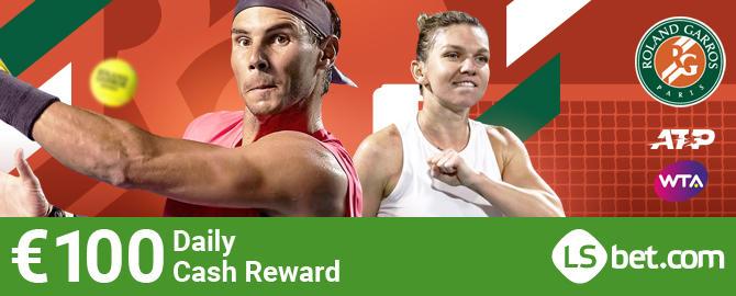 French Tennis Heat Follow the breathtaking matches of the 2020 French Open Tennis Championship and receive a fantastic €100 Cash Reward during each day of the competition to back up your chances if you are feeling down. https://t.co/tS5COmokaF https://t.co/KwlHTr8RVC