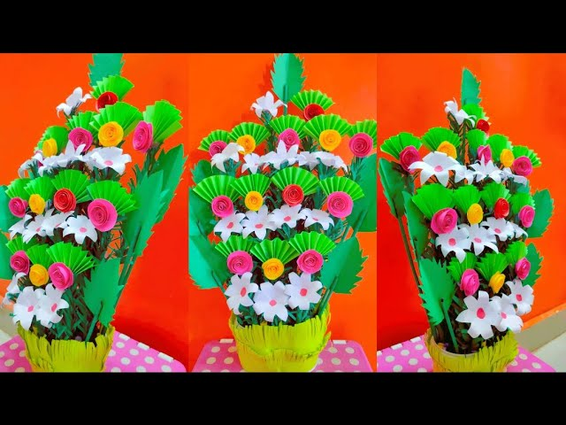 Bouquet of flowers .! Easily made with Papers...Have a look, You will be fell into love with our crafts ☺️ https://t.co/4bZHaBFEAI  #PaperCrafts #bouquet #Flowers https://t.co/FB5lNVzbTF