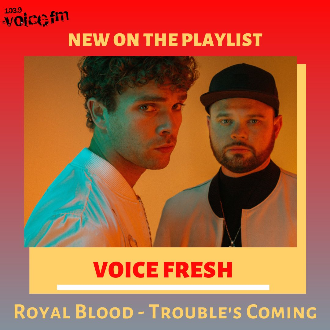 🆕 Monday is here which means we 👋 to a #NewPlaylist!  #Voice Fresh brings you... ✅ @royalblooduk  ✅ Stormzy  Plus #RecentlyAdded is the amazing @arloparks with #Hurt 🎵 https://t.co/3NxHBpC90m