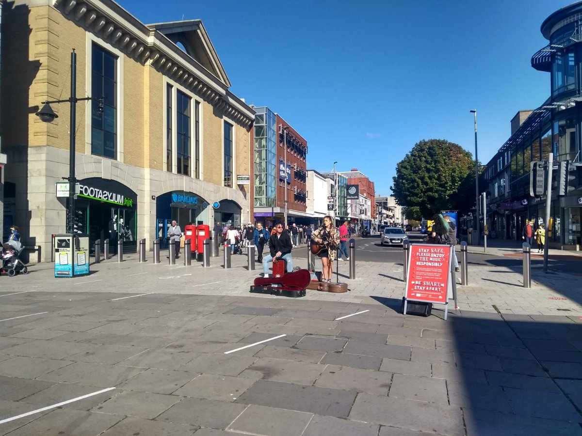 Another successful weekend of performances, thank you to all those involved with the city centre busking project.