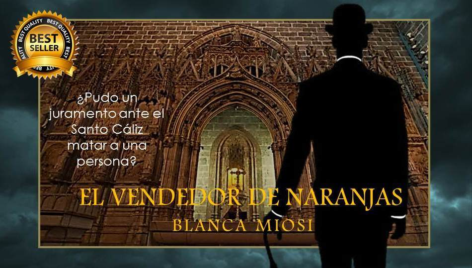 ¿Fue el juramento que hizo Ramón Latorre frente al Santo Cáliz el causante de la muerte de Raniera? EL VENDEDOR DE NARANJAS  https://t.co/CFHac1S8UL A la venta en Amazon - Digital y papel #KindleUnlimited #Histórica #Acción #Intriga #Suspense https://t.co/KEEkUtdeOl