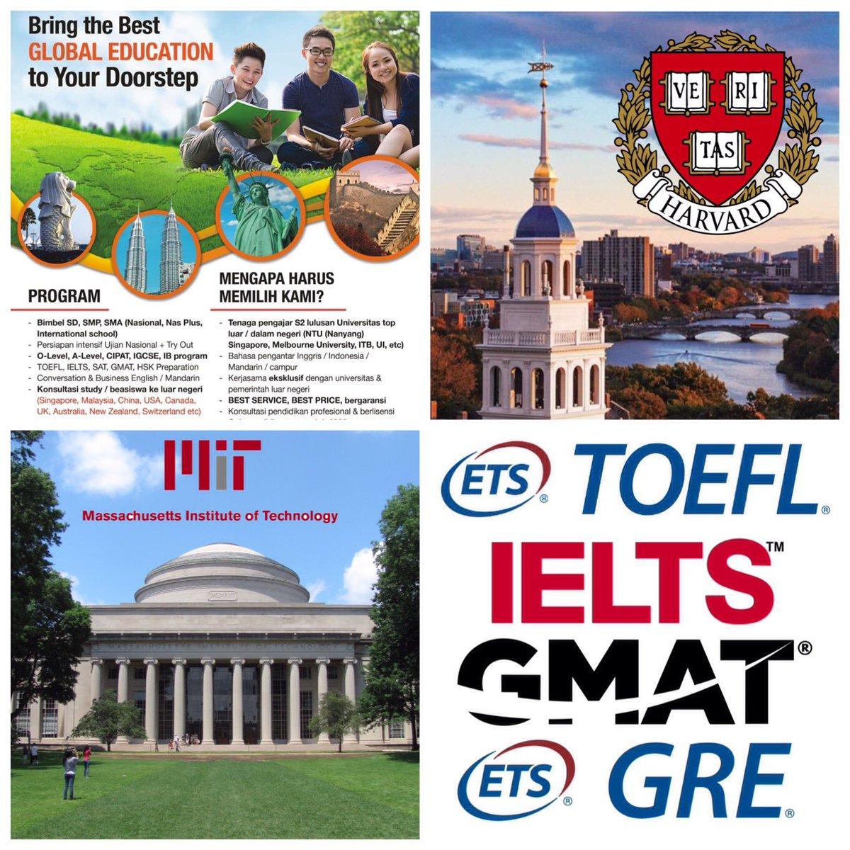 Pusat Persiapan Test #TOEFL #IELTS #GMAT #GRE #SAT #IGCSE #TOEIC • konsultasi Studi/Beasiswa ke Luar Negeri • (031)3816827 • PERTAMA & SATU-SATUNYA DI #SURABAYA https://t.co/ryQFbzULsT
