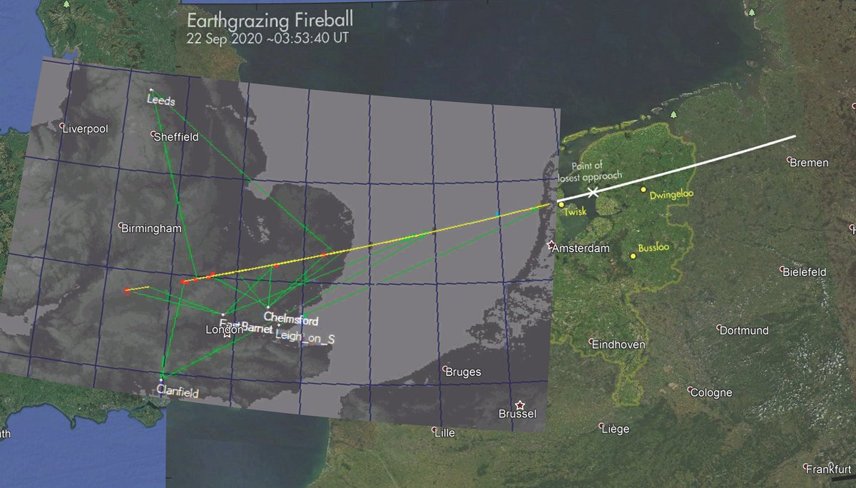 Listen to @BBCr4today (from 1:45:37 until 1:49:00 in). The NEMETODE meteor network tracked the #earthgrazer across the UK. (https://t.co/TrBxbN7Dpx @Cmdr_Hadfield #meteor @paulhaworth #fireball https://t.co/WwEqna9rny