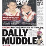 @BuzzRothfield has two cracking @telegraph_sport backpage stories on DallyM voting & 7yo ball boys mates in  @_nathancleary and @kyle_flano set to face off in week 1 of #NRL finals plus great yarns by @BulldogRitchie & @RayThomas_1