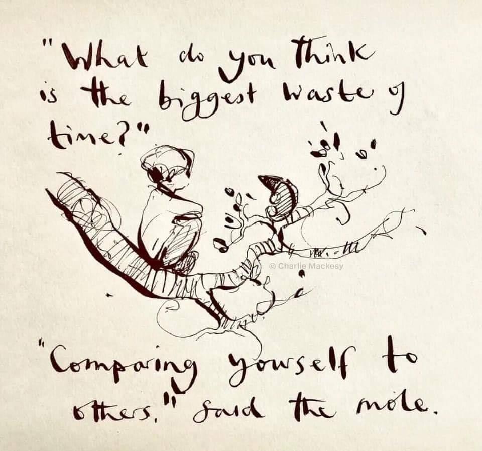 COMPASSION NOT COMPARISON 💜💜💜 #YouMatterAlways #practicemakespossibilities #progressnotperfection #compassionnotcomparison #senseofself #selfworth https://t.co/u0ehosXucI