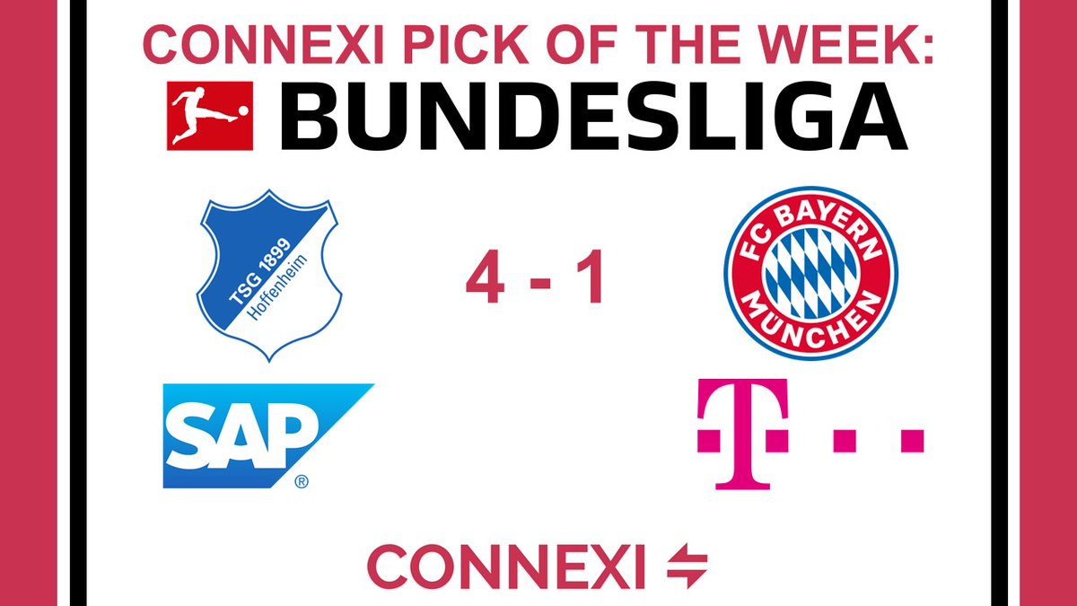 Connexi Pick Of The Week:  @deutschetelekom suffered their first defeat since December 2019 after a 4-1 loss against @SAP.  They had won their past 23 matches and were unbeaten in 32 in all competitions.  #football #sport #Bundesliga https://t.co/q12DQmb1N4