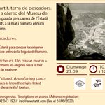 "Image for the Tweet beginning: #VisitaGuiada ""L'Estartit terra de pescadors"""