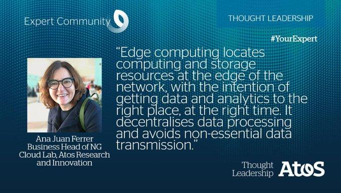 🧐 #EdgeComputing und dessen Vorteile einfach erklärt 👉 https://t.co/KkF...