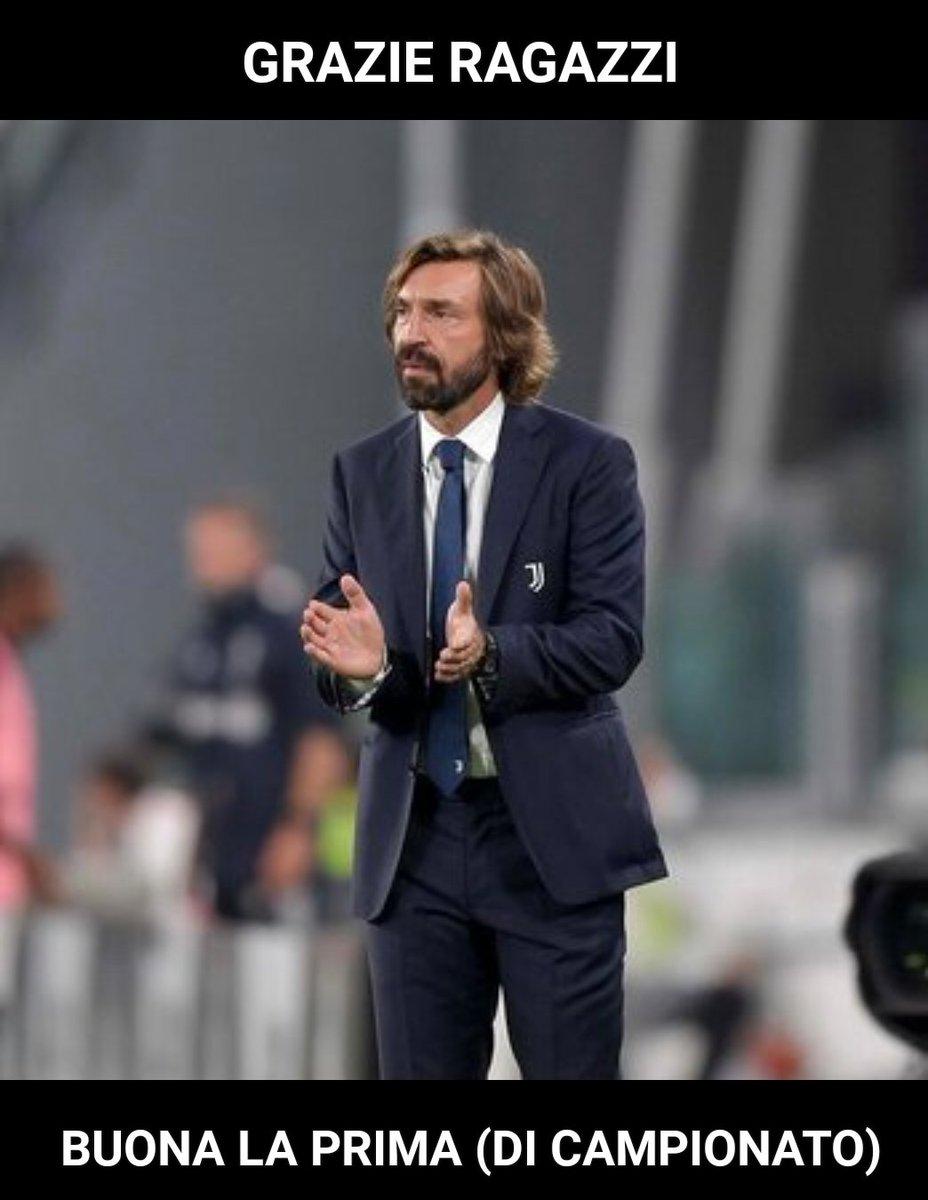 #coachPirlo #Pirlo #JuveSamp #Juventus #FinoAllaFine #ForzaJuve #pirloinventa https://t.co/z7OlwvAgAF