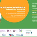 Image for the Tweet beginning: 👉 Reto Solidario desde #Bilbao