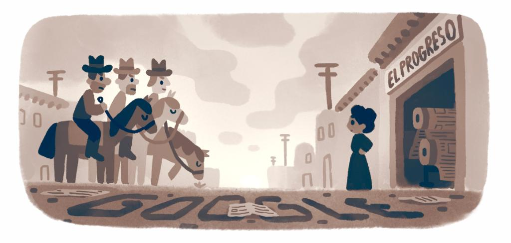 A #GoogleDoodle to celebrate Mexican-American journalist, educator, nurse, & activist Jovita Idár—a pioneer in the fight for Mexican-American civil rights at the turn of the 20th century.  → https://t.co/fuogiluve4 https://t.co/sCDuTWYT2Y