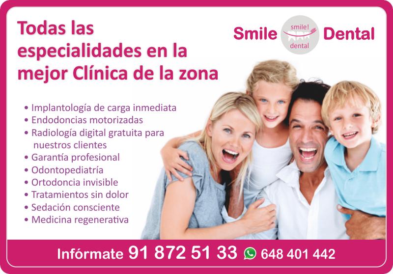 SMILE DENTAL tu clínica dental en Eurovillas. Todas las especialidades en la mejor clínica de la zona. Lláma o mándanos un Whatsapp! https://t.co/XPrZASZss5 #Eurovillas #NuevoBaztán #ClínicaDental #Ortodoncia #Endodoncia #Implantología #SmileDental #Dentista #NuevaNormalidad https://t.co/zMkHDdJiC0