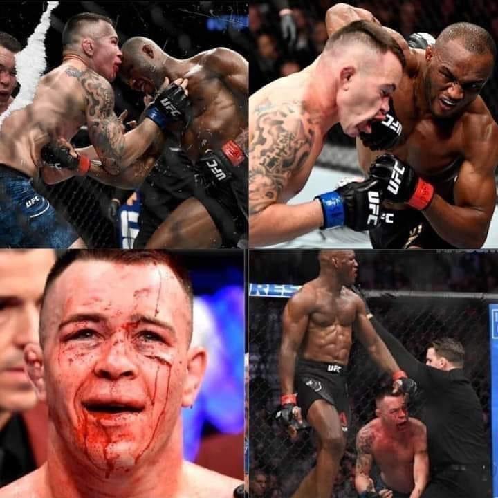 @ColbyCovMMA, Remember this haha. @USMAN84kg smash this fool again. #UsmanCovington2 #UFC #MMA #UKMMA #BlackLivesMatter #BlackLivesMatterUK #BLM #BLMUK @Blklivesmatter @ukblm ✊🏽✊🏾✊🏿 https://t.co/FzZ0TOsHew
