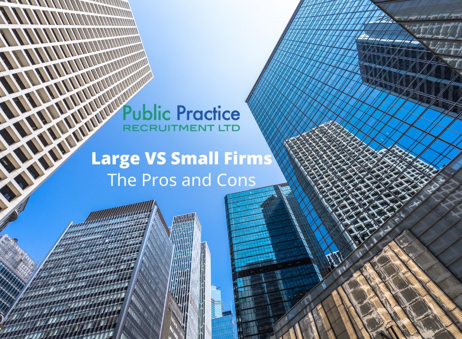 As an accountancy graduate,  what are some of the differences between working for a small firm and a large accountancy practice? And which would suit you best?  https://t.co/H30YWYHQxN  #graduates #accountant #career #future https://t.co/kGGx5AC60j
