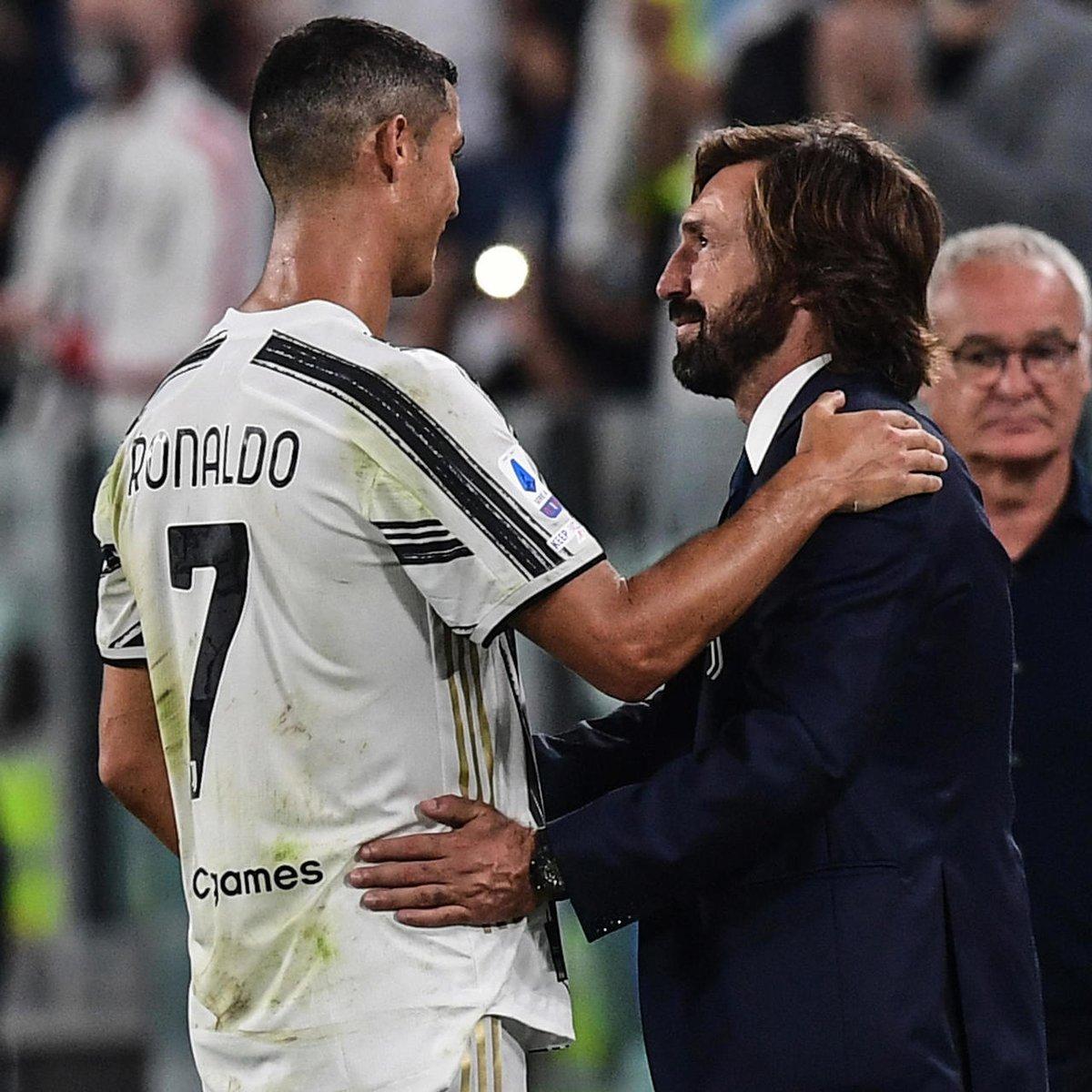 """Sampdorias tränare Claudio Ranieri: """"I detta Juventus kan man känna den bra stämningen mellan laget och tränaren.""""  #Ranieri #Sampdoria #JuveSamp #Juventus #Pirlo https://t.co/DgnSmTDJ7q"""