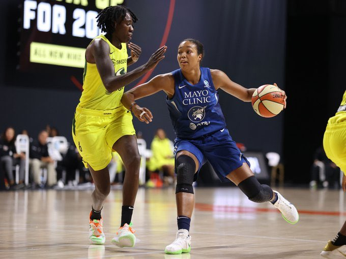 Bir diğer yarı final serisi olan #Lynx-#Storm eşleşmesinin ilk maçı, koronavirüs test sonuçları çerçevesinde ertelendi.   #WNBA https://t.co/JYvldLiy4t