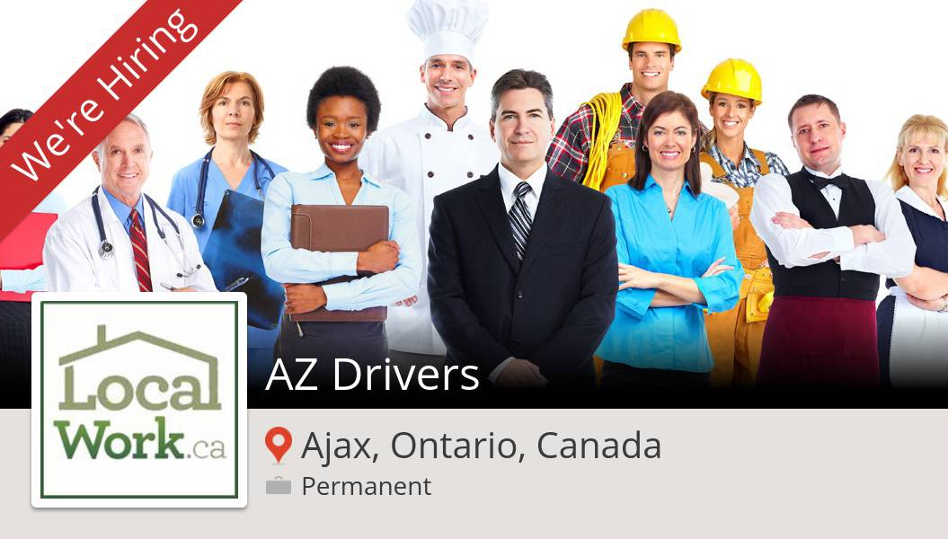 #LocalWorkca is looking for an AZ #Drivers in #Ajax, apply now! #job https://t.co/Lo0V2PamJe https://t.co/OcrbW1FFwE