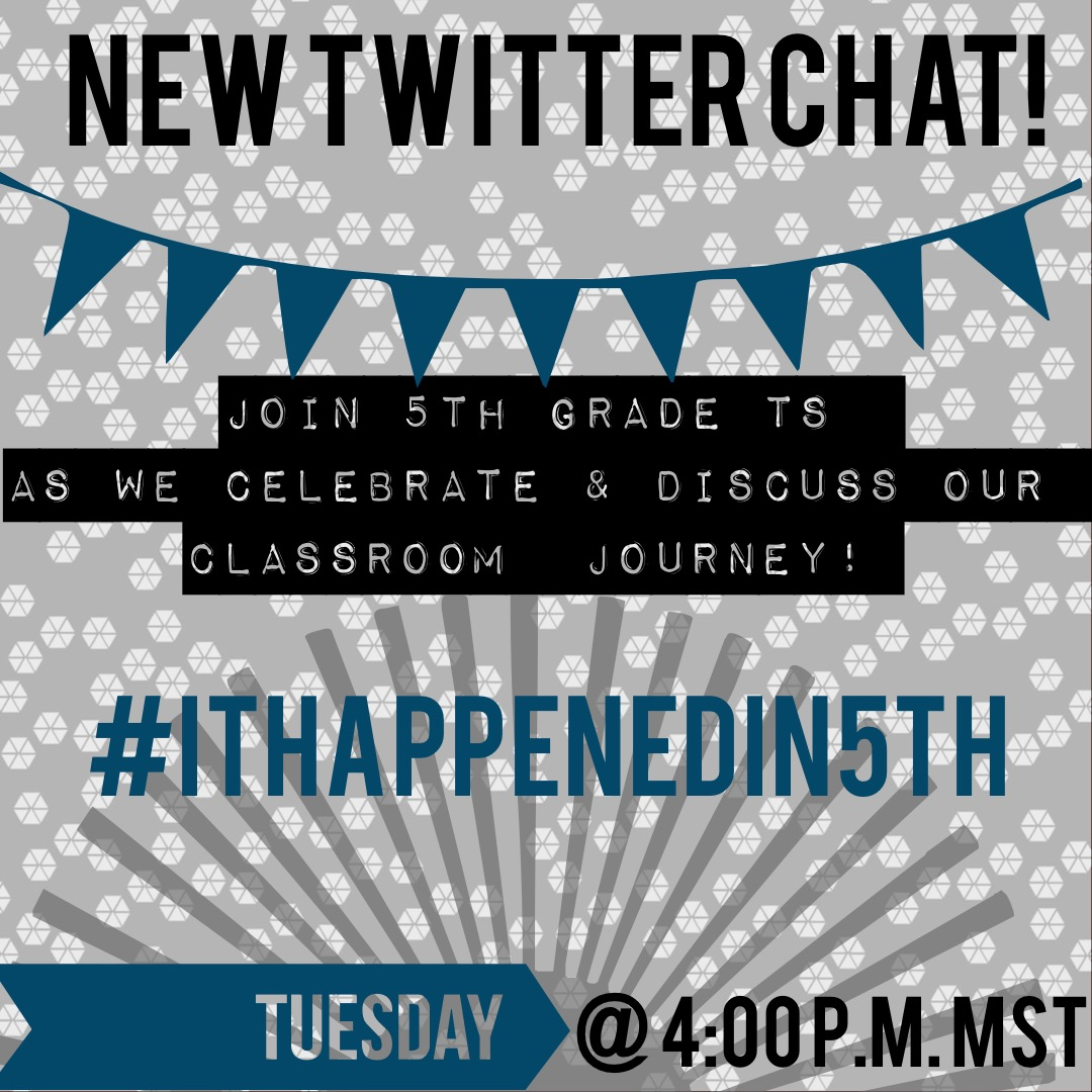 Hey @TraciPiltz @ShaundelK @plevna5  and everyone else!  Starting a Twitter chat! Would you be willing to help me spread the word? This is for MT Ts and Ts around the world! Our handle will be #ithappenedin5th 1st chat will be 9/22 4:00 p.m. MST https://t.co/YozI4TLiEo