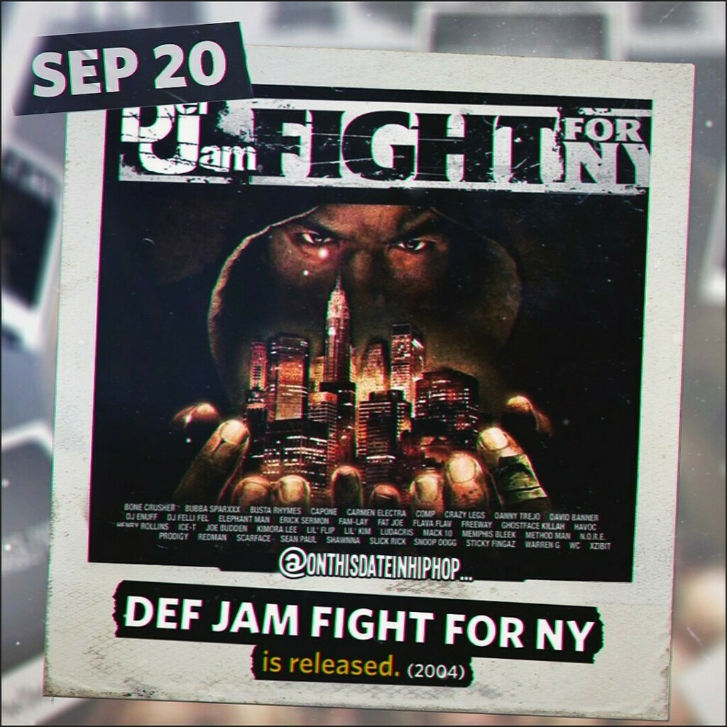 #OnThisDateInHipHop, #DefJam: #FightForNY was released. This sequel to the #EASports' #DefJamVendetta video #bloodblockedme allowed you to create a player and fight your way through the #NewYork underground. #LiLKim, #SnoopDogg, #MethodMan, #Redman, #Fat… https://t.co/9Iwyb6DwNd https://t.co/1wwY33zKGu