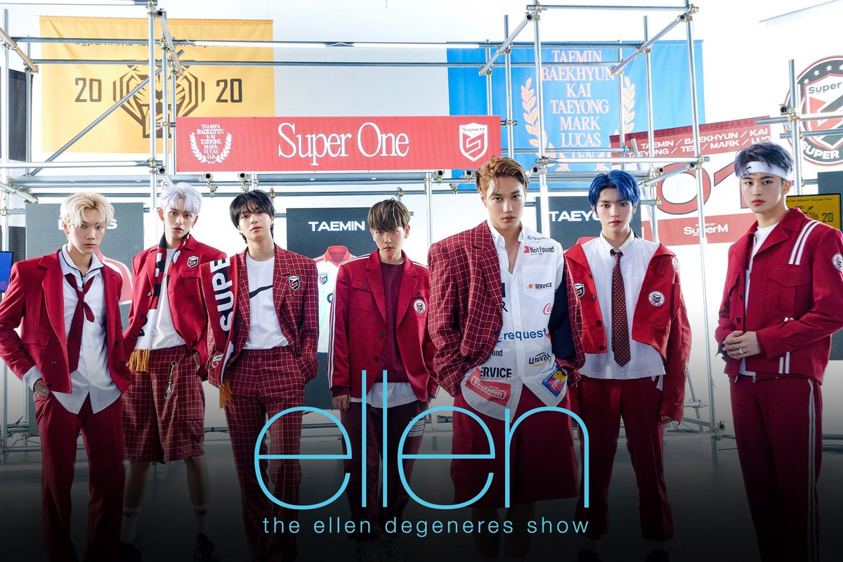 @superm's photo on Ellen DeGeneres