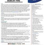 Image for the Tweet beginning: #BobcatFire Today, crews & equipment
