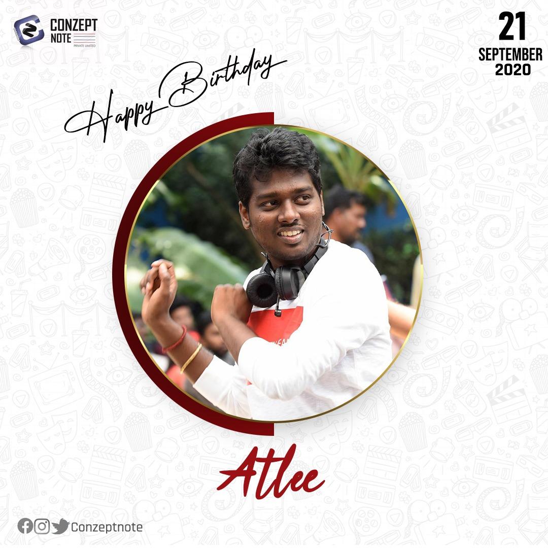 Happy birthday @Atlee_dir ! Have a great year ahead!   . . . #HappyBirthdayAtlee #HBDAtlee https://t.co/ZzQCwrq1yK