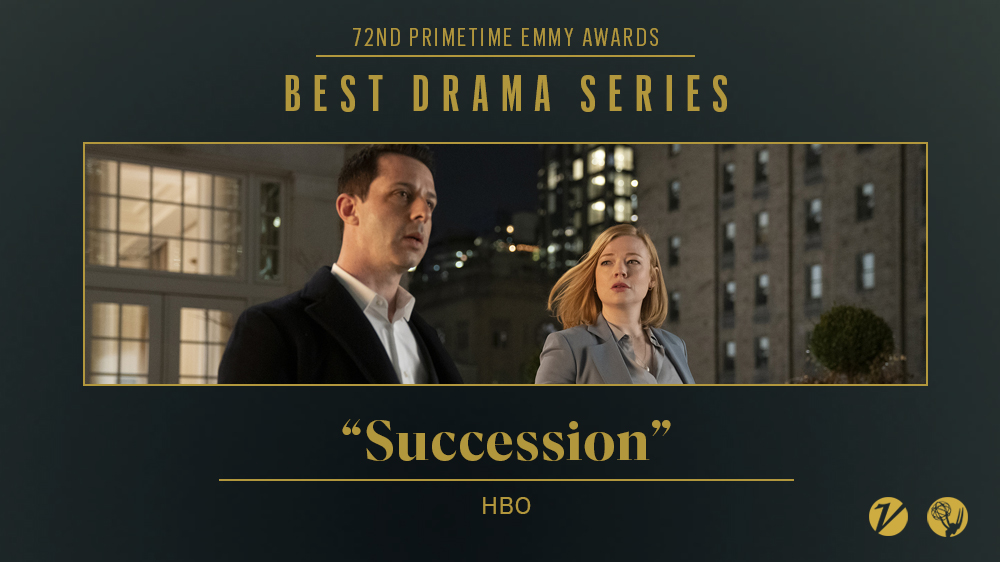 #Succession wins for best drama series at the #Emmys https://t.co/1Gsm4Regm7 https://t.co/vOUiH13bzQ